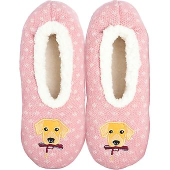 Novelty Slippers-Dog - Medium/Large KBWFS-49ML
