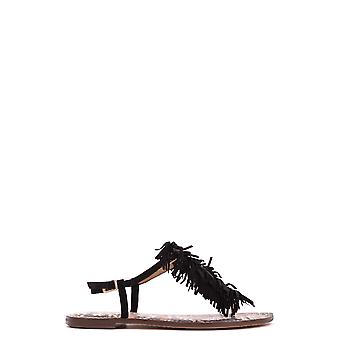 Sam Edelman women's MCBI266007O Black Suede sandals