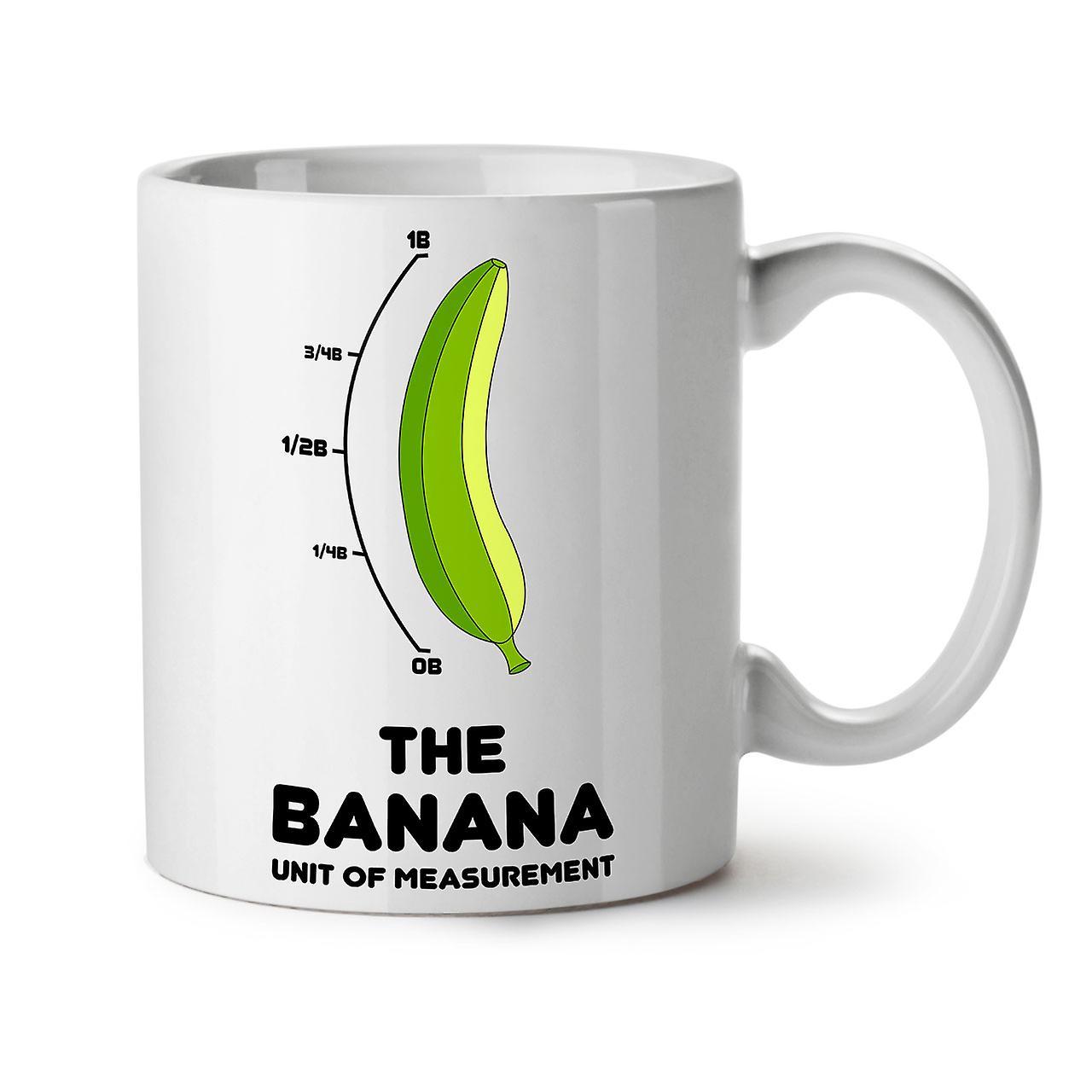 Tasse Café Banane Blanc OzWellcoda Céramique Nouveau 11 Thé Pour Échelle SMpVUzq
