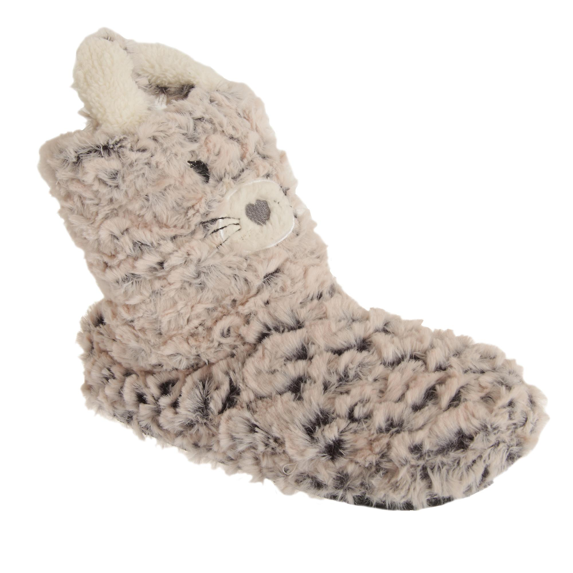 Design Womens Slippers Boot Cat Ladies rrxwOIpE