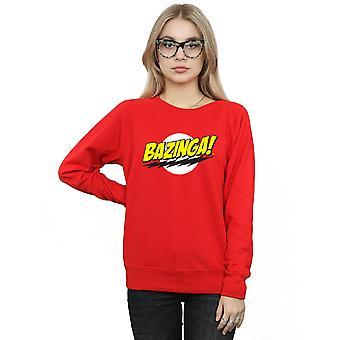 The Big Bang Theory Women's Sheldon Bazinga Sweatshirt