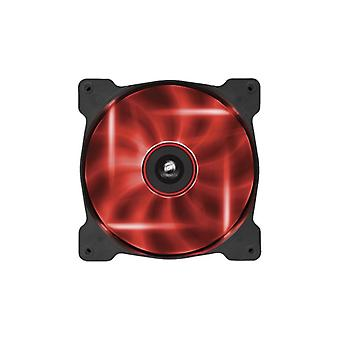 The Corsair Fan, AF140, Low noise Red LED, Single pack