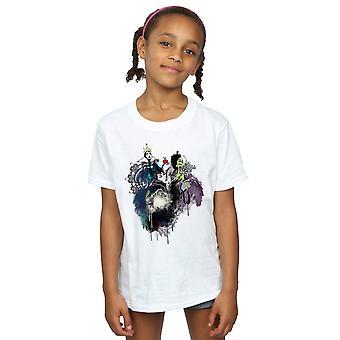 Disney Girls Villains Sketch T-Shirt