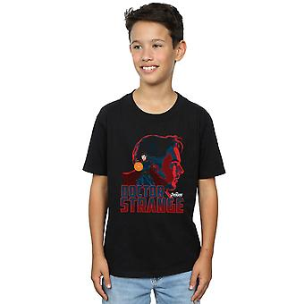 The Avengers jungen Infinity Krieg Arzt seltsame Zeichen T-Shirt