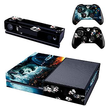 REYTID Batman Joker Dark Knight Xbox One Console Skin / Sticker + 2 x Controller Decals & Kinect Wrap - Full Set - Microsoft XB1