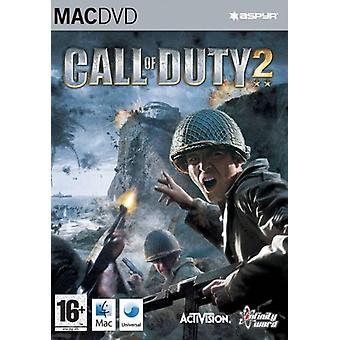 Call Of Duty 2 (Mac) - Usine scellée
