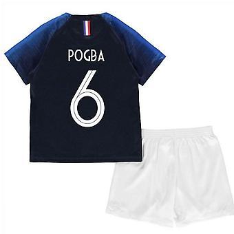 2018-2019 França casa Nike Mini Kit (Pogba 6)