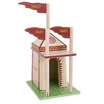 Le Toy Van Wooden Ceaser's Campaign Tent Medieval Playset Accessories