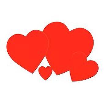 Slätt hjärta utskärningar - 4