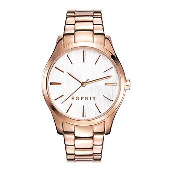 ESPRIT ladies watch wristwatch Audry stainless steel Rosé ES108132006