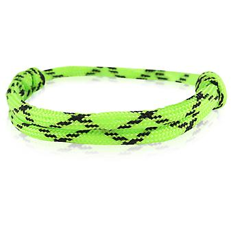 Skipper bracelet surfer band node maritimes bracelet nylon Green / Black 6914
