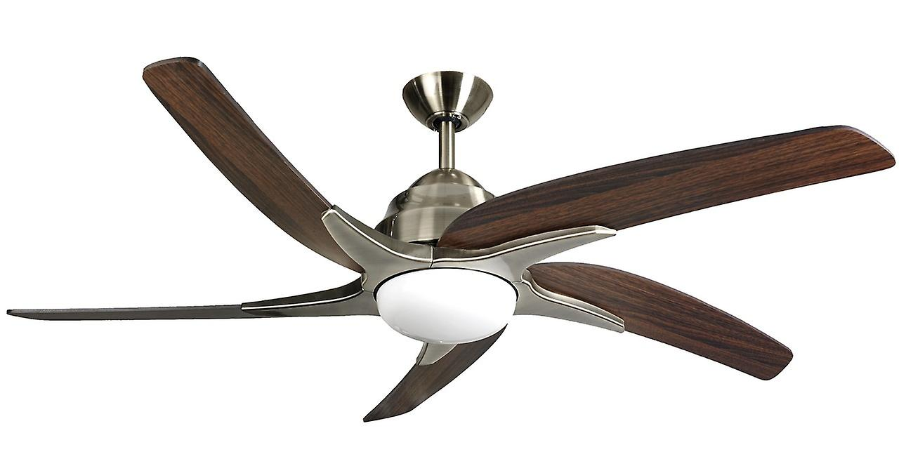 Ceiling fan Viper Plus Brass with LED lumière 112 cm   44& 034;