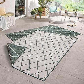 Draaien van tapijt Malaga green room in- & outdoor