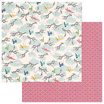 Paper Crane Double-Sided Cardstock 12