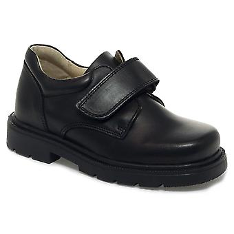 Petasil Boys Ollie Schule Schuhe schwarz F Fitting