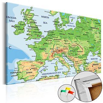 Foto op cork - Europa [Cork kaart]