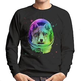 Space Fox Men's Sweatshirt