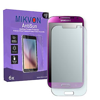 Samsung I9507 Galaxy S4 TDD LTE Screen Protector - Mikvon AntiSun (Retail Package with accessories)