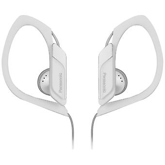 Panasonic RP-HS34E-W Water/Sweat Resistant In Ear Sports Headphone - White