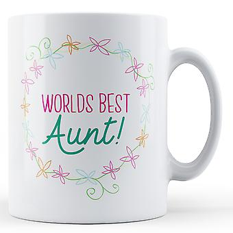 Verdens bedste tante! -Trykte krus