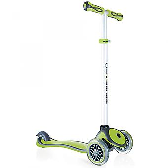Globber Mini Micro Scooter - Primo Plus Mini Scooter - 3 Wheel Scooter - Lime