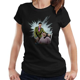 TV Times Max Bygraves And Val Doonican 1970 Women's T-Shirt