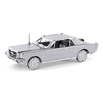 Metal Earth 1965 Ford Mustang Coupe Zilver Editie