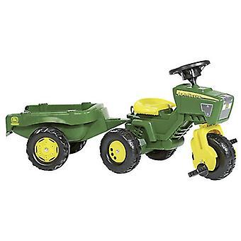 Rolly Toys 052769 RollyTrac John Deere Traktor mit Anhänger