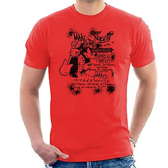 Disney Mickey Mouse Band Make Some Noise Men's T-Shirt