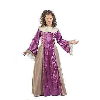 Rosamunde princesse noble de costume fille Reine enfant costume
