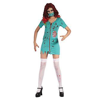 Zombie Surgeon Lady (Dress & Mask)
