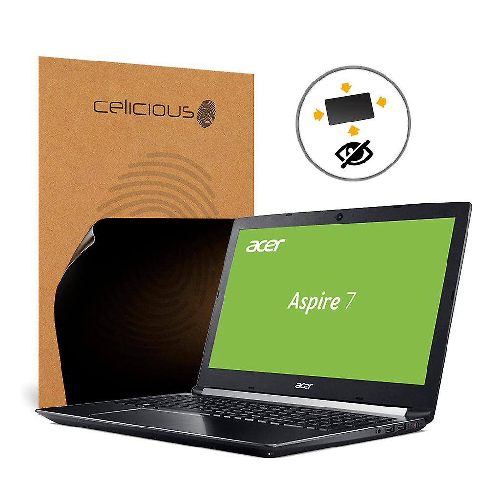 Celicious Privacy Plus 4-Way Anti-Spy Filter Screen Prougeector Film Compatible with Acer Aspire 7 A717-72G