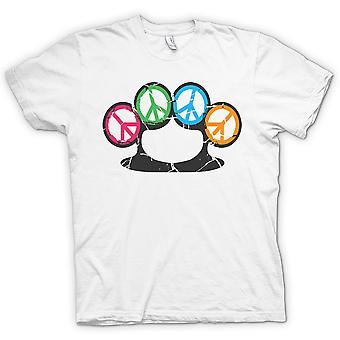 Frieden Knuckle Duster - Waffe des Friedens-T-Shirt