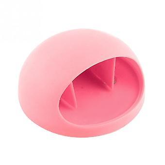 Práctico cepillo de dientes titular/pared almacenamiento-rosa