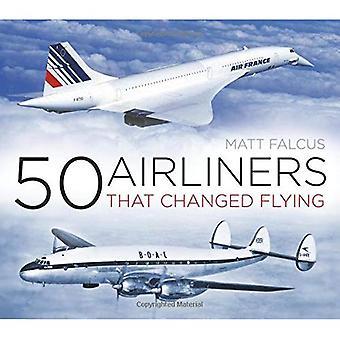 50 Flugzeuge, dass geänderte fliegen