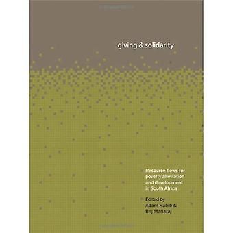 Giving and Solidarity: Resource Flows for Poverty Alleviation in South Africa