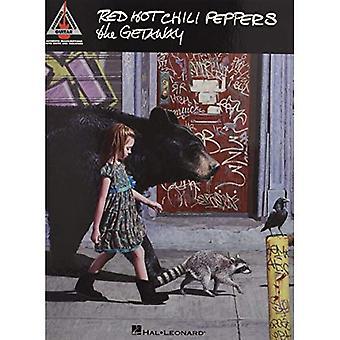 Red Hot Chili Peppers la guitarra escapada grabó versiones Gtr ficha Bk (guitarra de versiones grabadas)