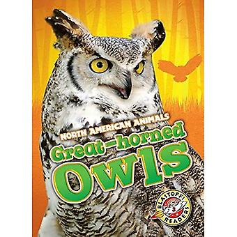 Great-Horned Owls (North American Animals)