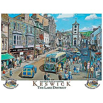 Keswick (old British Rail ad.) 90mm x 65mm fridge magnet  (og)