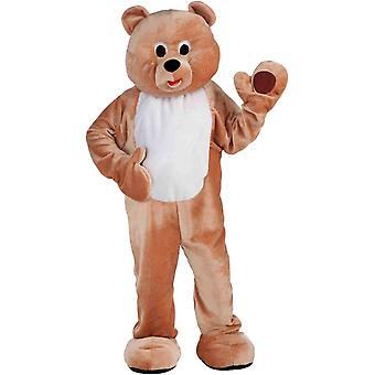 Bear Mascot Adult Costume