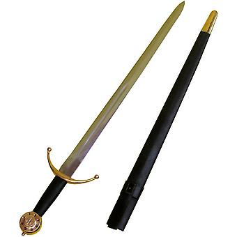 Sword Medieval And Scabbard - 15611
