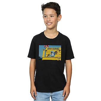 Disney Boys Lilo And Stitch Life Guard T-Shirt