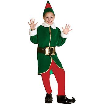 Green Elf Child Costume