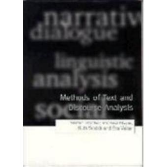 Methods of Text and Discourse Analysis In Search of Meaning by Titscher & Stefan
