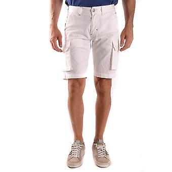 Sol 68 branco Shorts de algodão