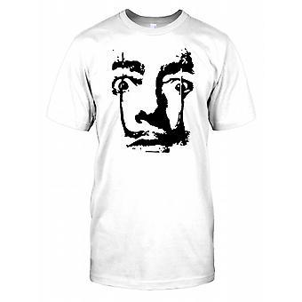 Salvador Dali Pop Art Mens T Shirt