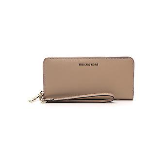 Michael Kors Beige Leather Wallet
