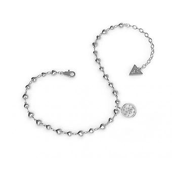 Strap Guess TROPICAL SUN UBA78000 - Anklet steel balls hanging 4 G woman