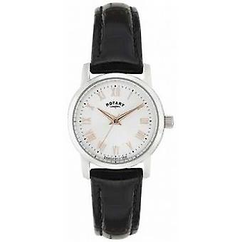 Rotary Sloane Ladies' With Rose Tone Accents LS02460/06 Watch