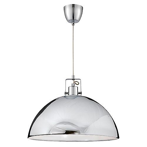 Searchlight 9140CC Dome Modern 1 Light Chrome Pendant